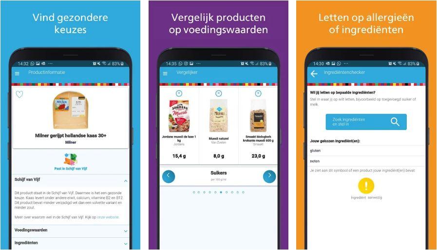 'Kies ik gezond'-app: De 'Ingrediëntenchecker'