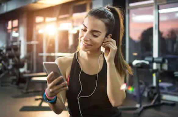 Muziek tijdens je training