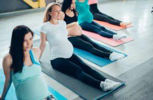 Zwanger en fit, moeder, zwangerschap