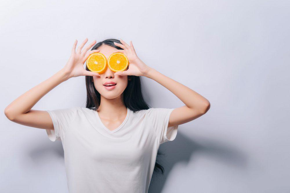 Vitamine C. Doe er je voordeel mee.